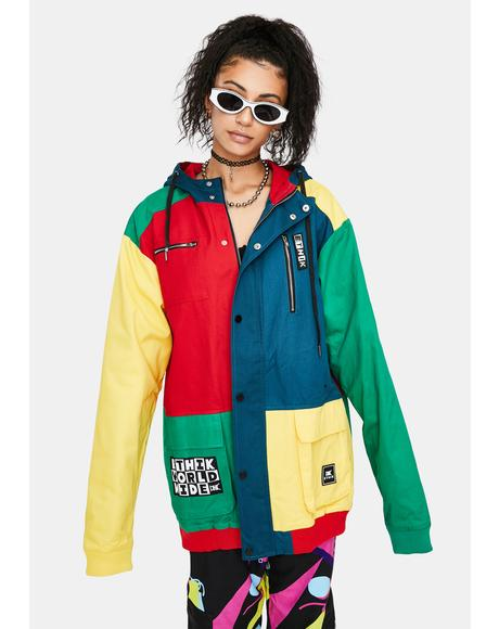 Lego Brick Colorblock Jacket