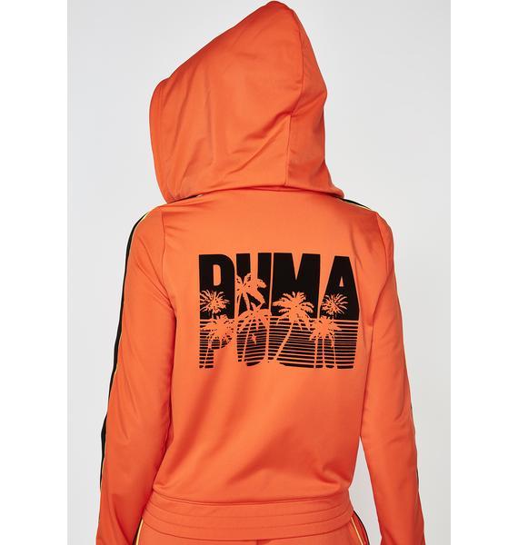 PUMA FENTY PUMA By Rihanna Fitted Tearaway Track Jacket
