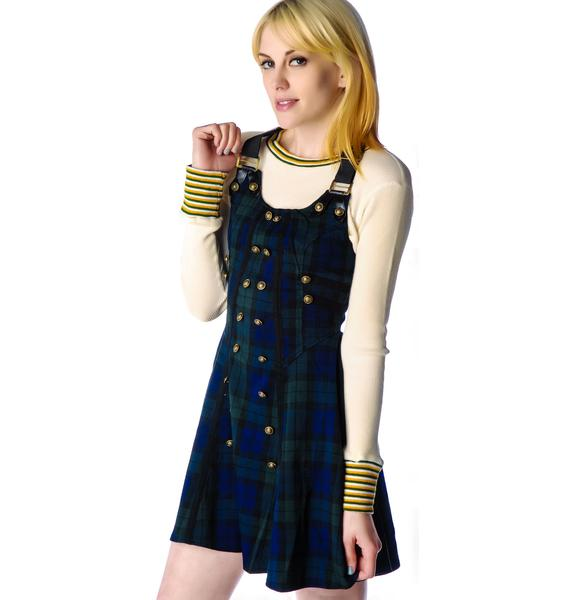 Hell Bunny Brita Plaid Rock Dress