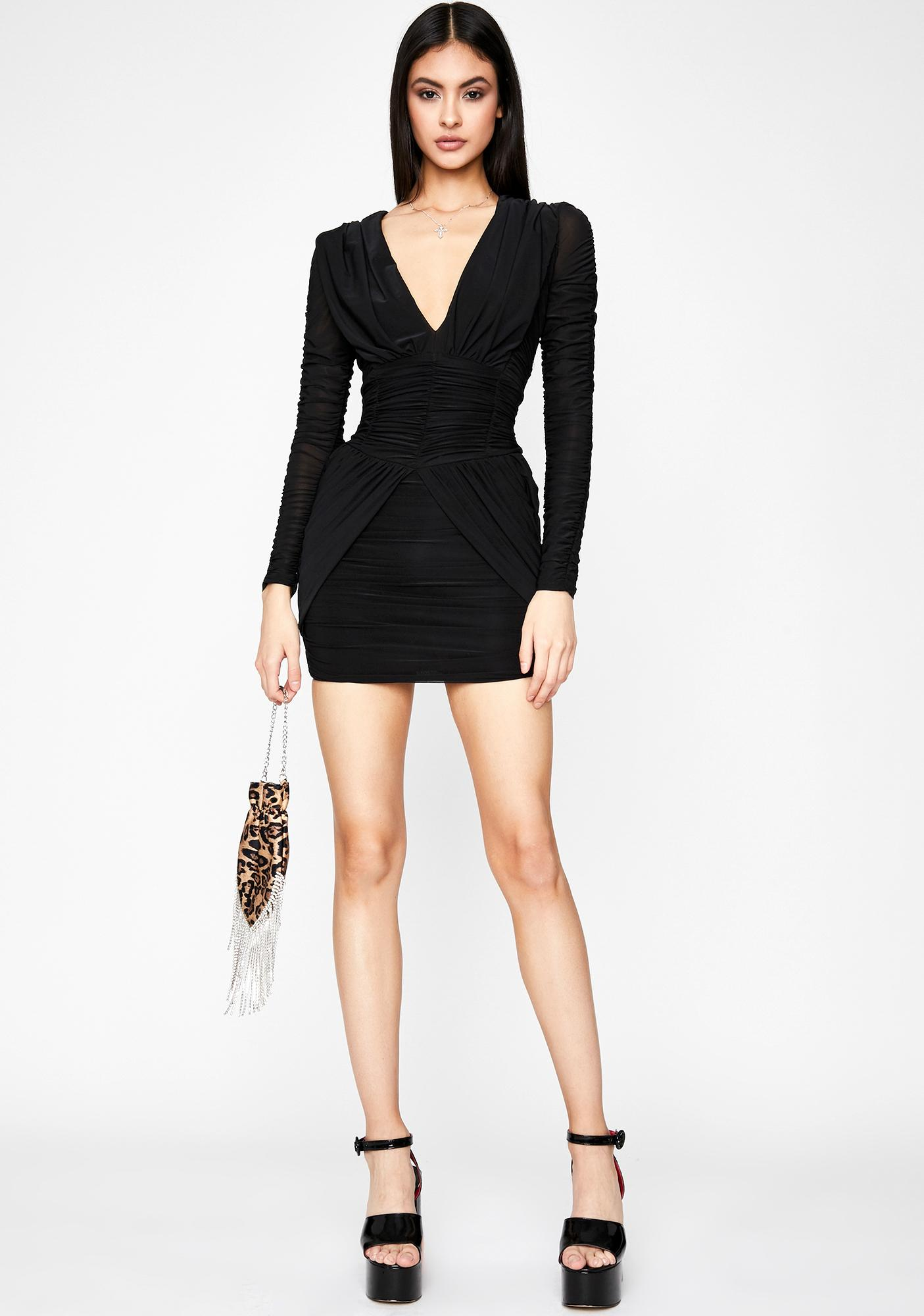 It's A Moment Ruched Dress