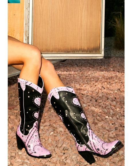 Candy Bandit Cowboy Boots