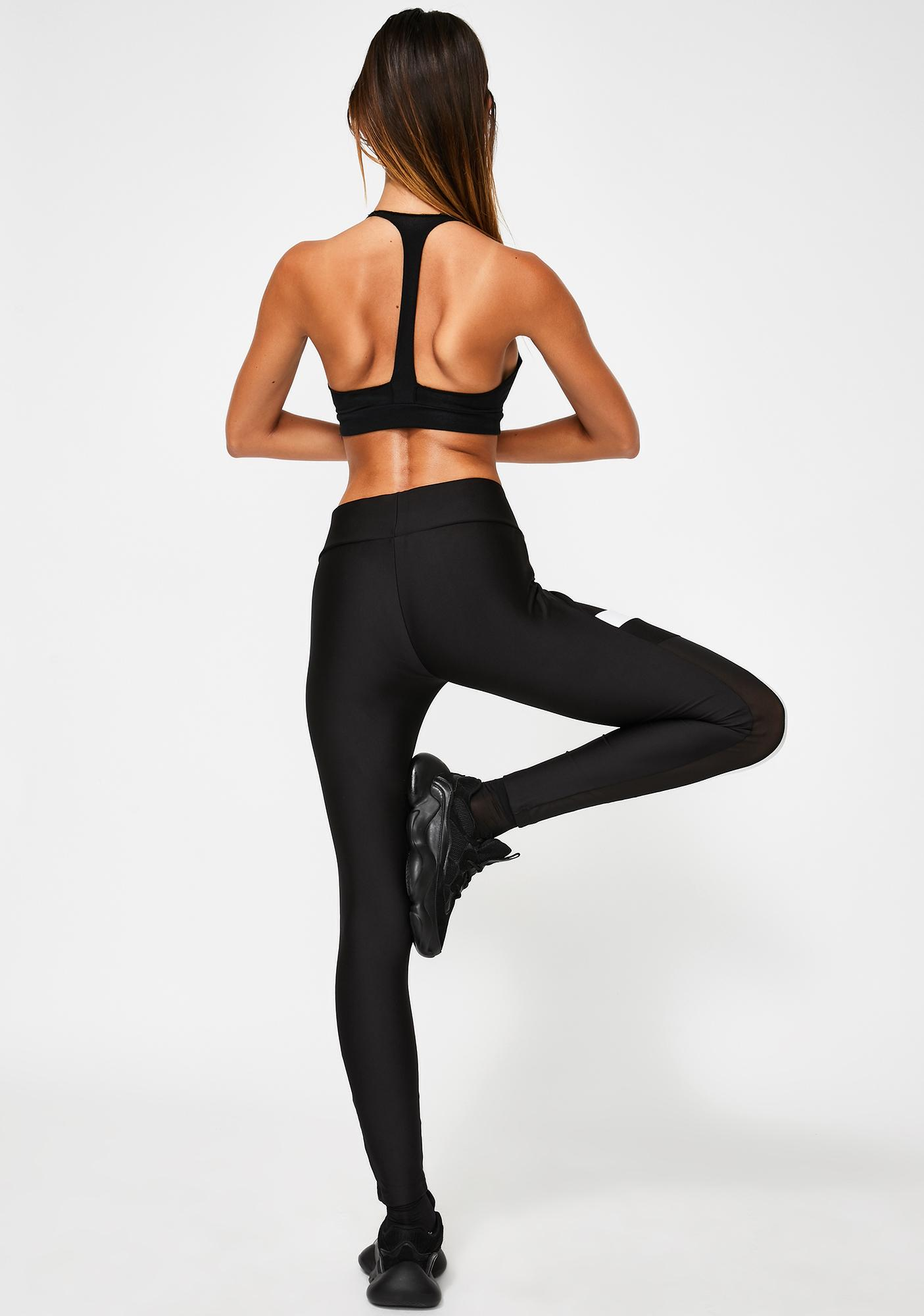 PUMA Chase Black Leggings