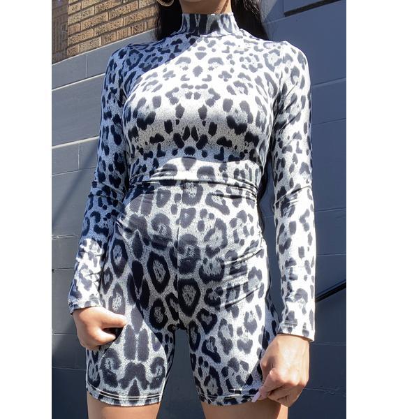 Dream Bandits Australia Extra Leopard Print Unitard