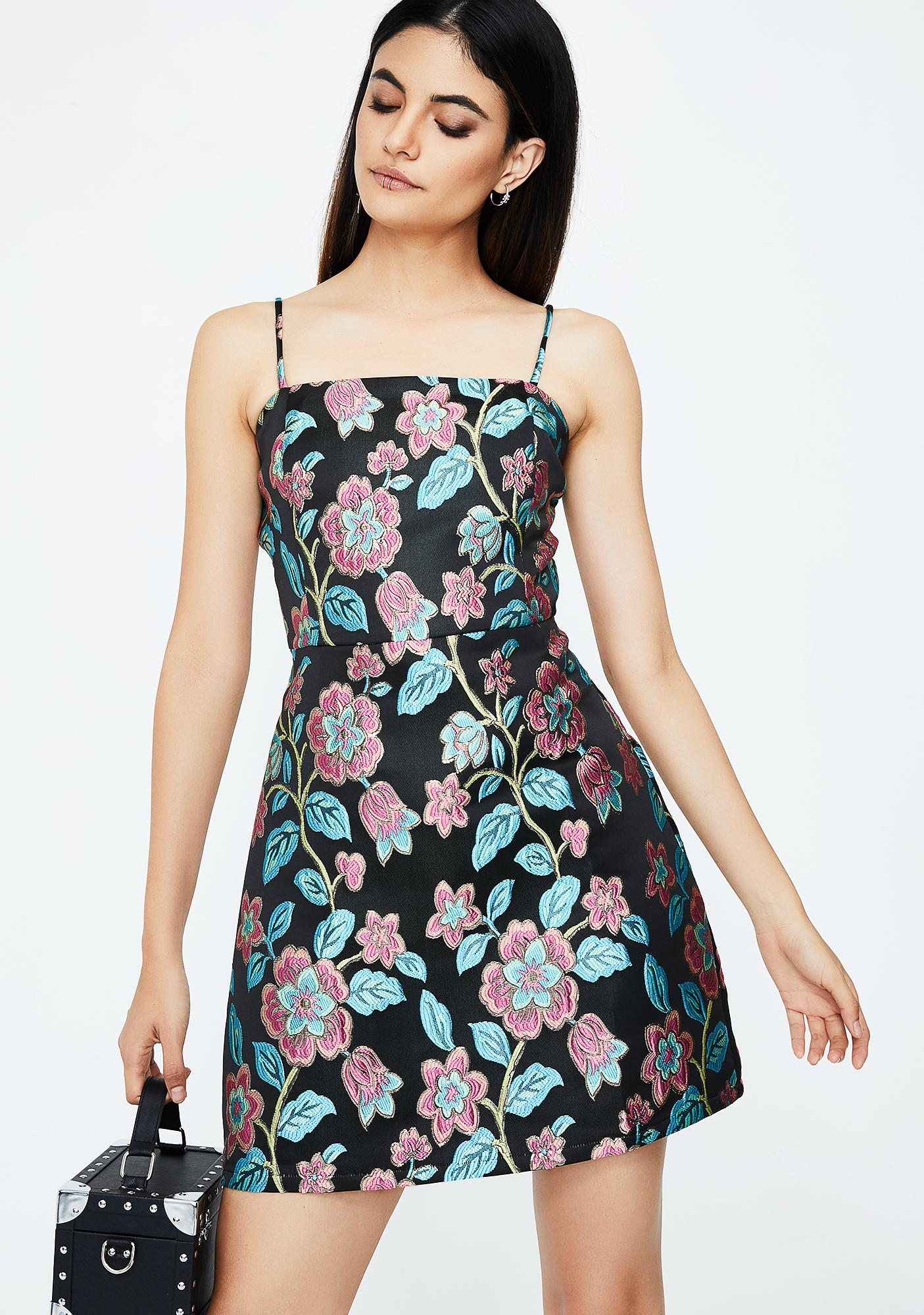 Beautiful Blooms Floral Dress