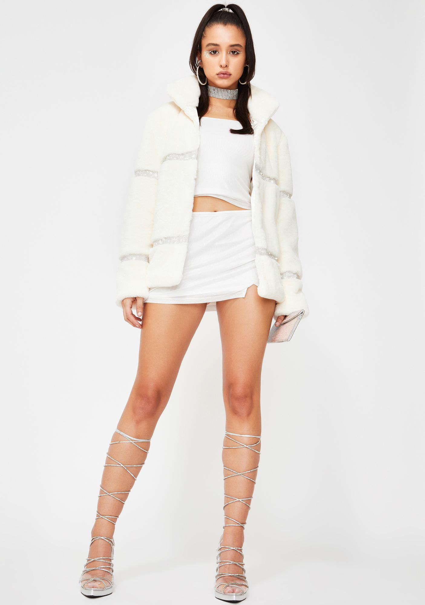Poster Grl Humble But Hungry Rhinestone Jacket