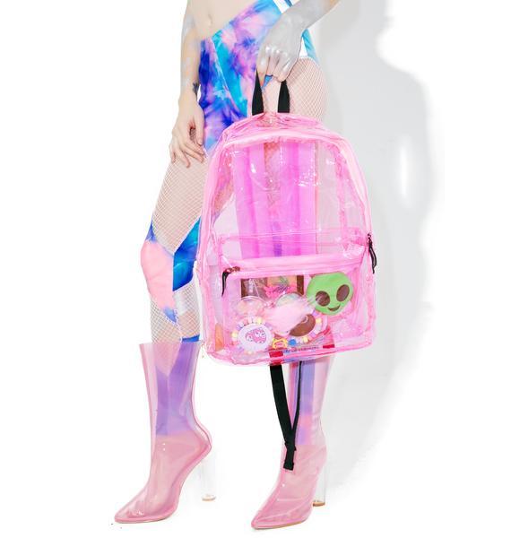Sunflyer See-Thru Backpack