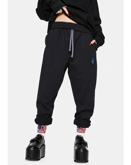 Simplified Screaming Hand Sweatpants