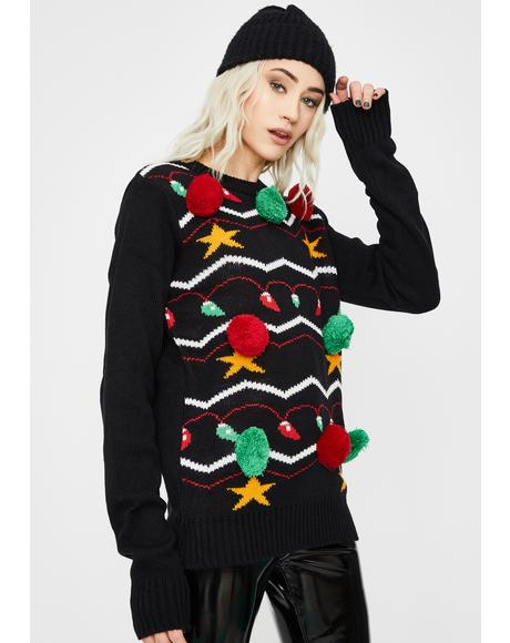 It's Lit Knit Sweater
