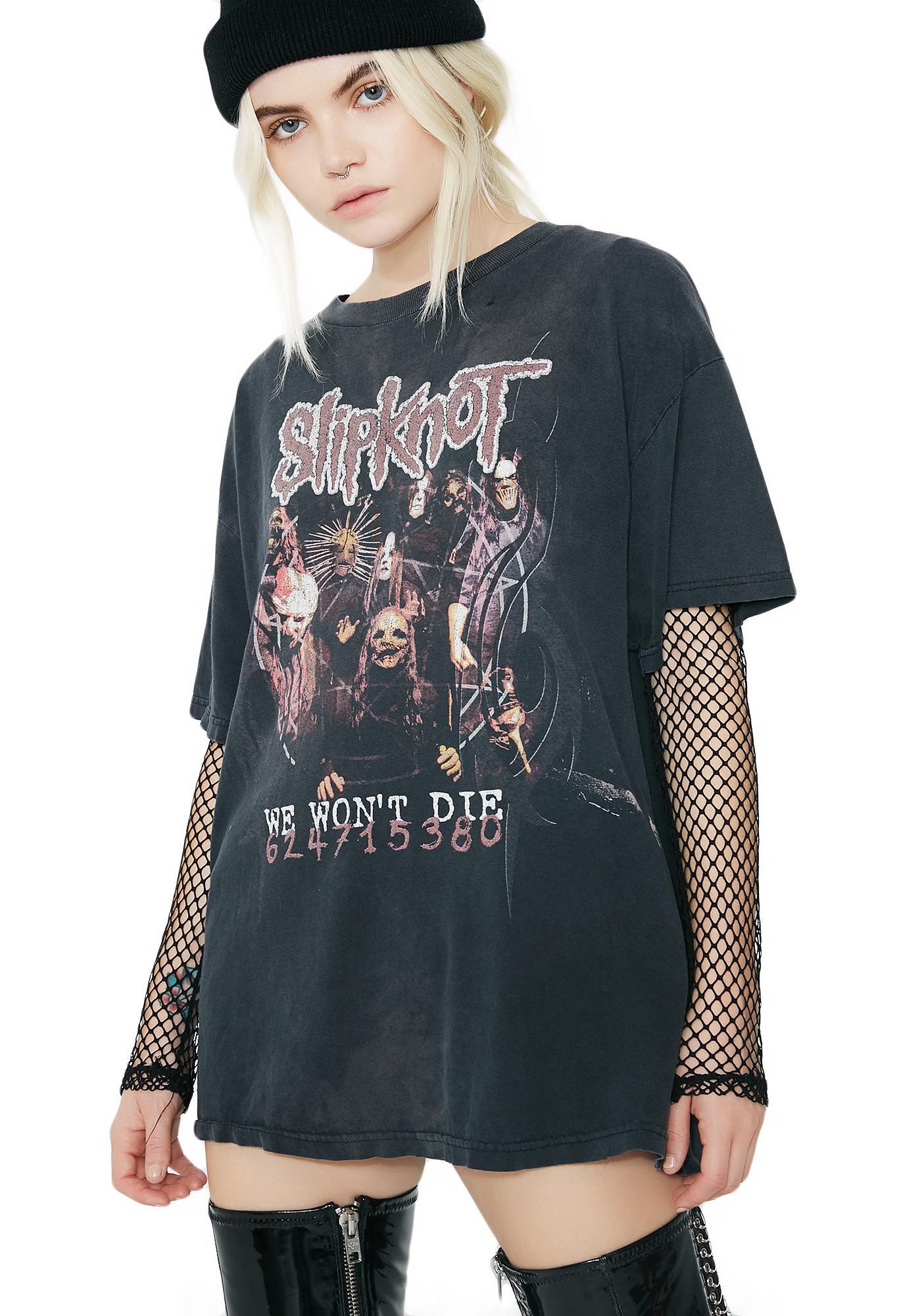 Vintage Slipknot We Won't Die Tee