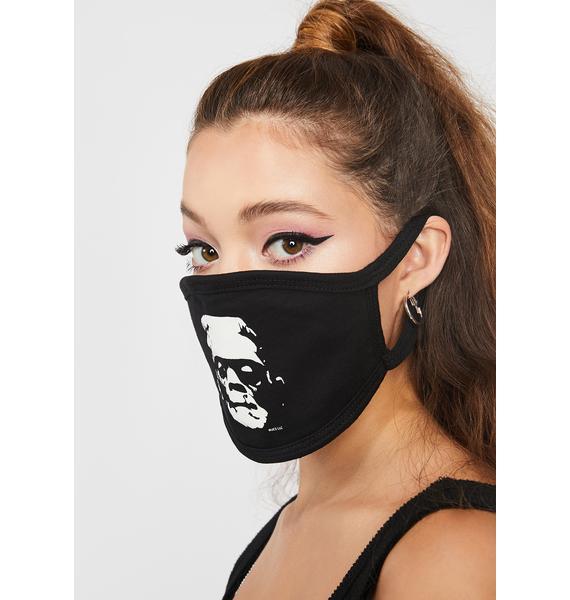 Rock Rebel Frankenstein Silhouette Mask