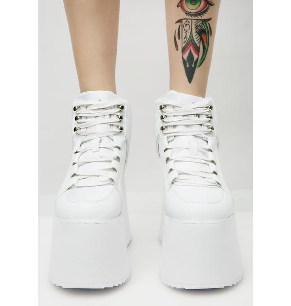 Y.R.U. Pure Qozmo II Platform Sneakers
