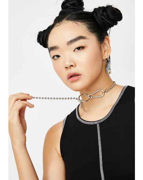 Letz Hang Ball Chain Necklace