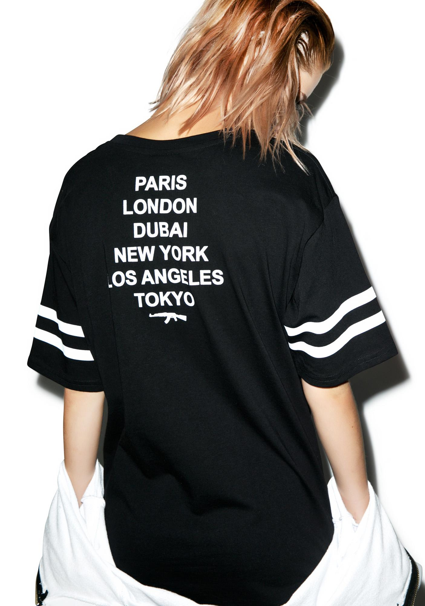 Defend Paris Paris Strap Jersey