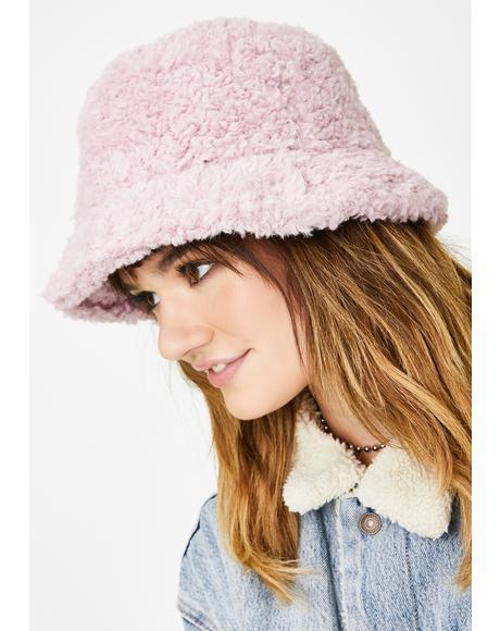 Nifty Gags Faux Fur Bucket Hat