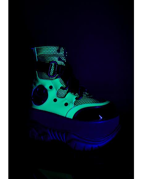 Toxic New Hacker UV Platform Boots