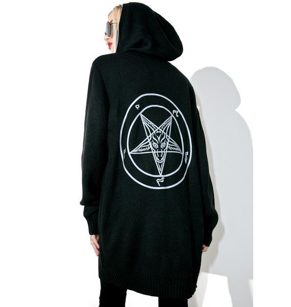 Killstar Templar Initiate Knit Cardigan