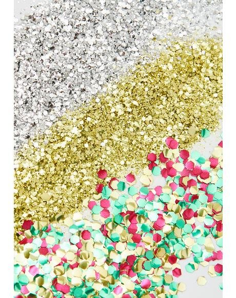 Festive Biodegradable Glitter Set