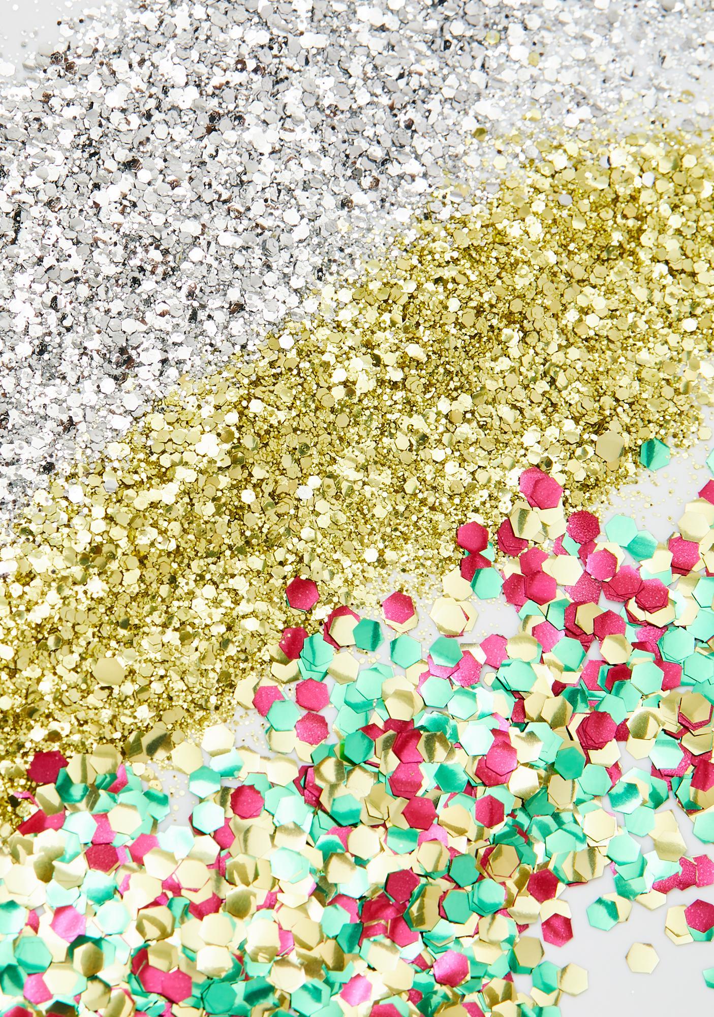 EcoStardust Festive Biodegradable Glitter Set