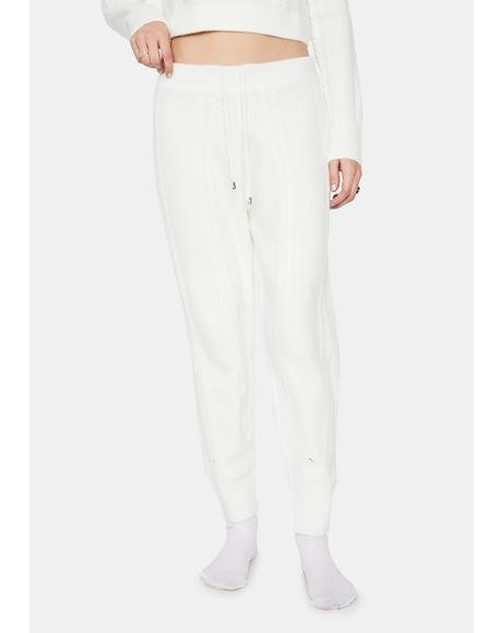 Frostbite Me Knit Joggers