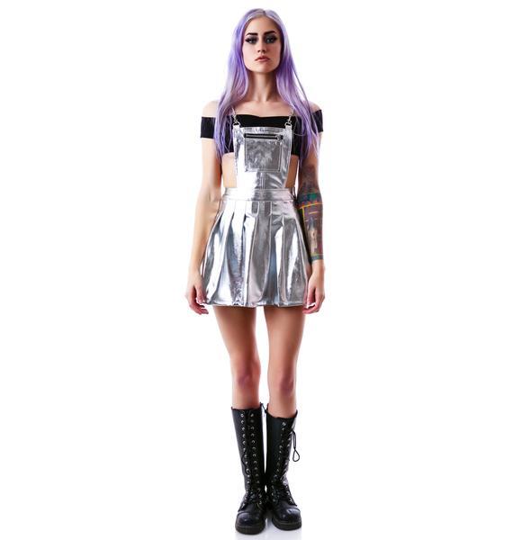 24HRS Space Cadet Pinafore Dress
