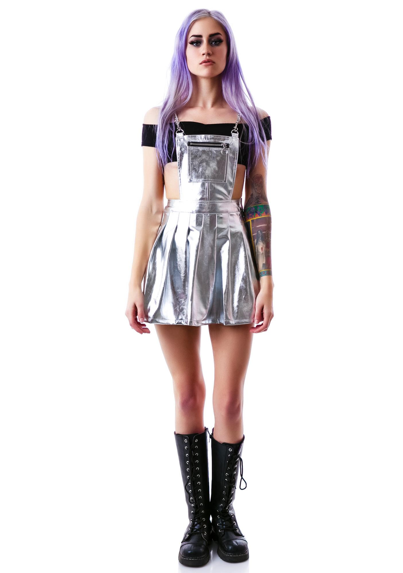 24HRS Space Cadet Pinafore Dress