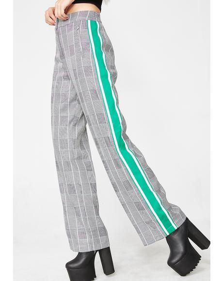 Street Smartz Wide-Leg Pants