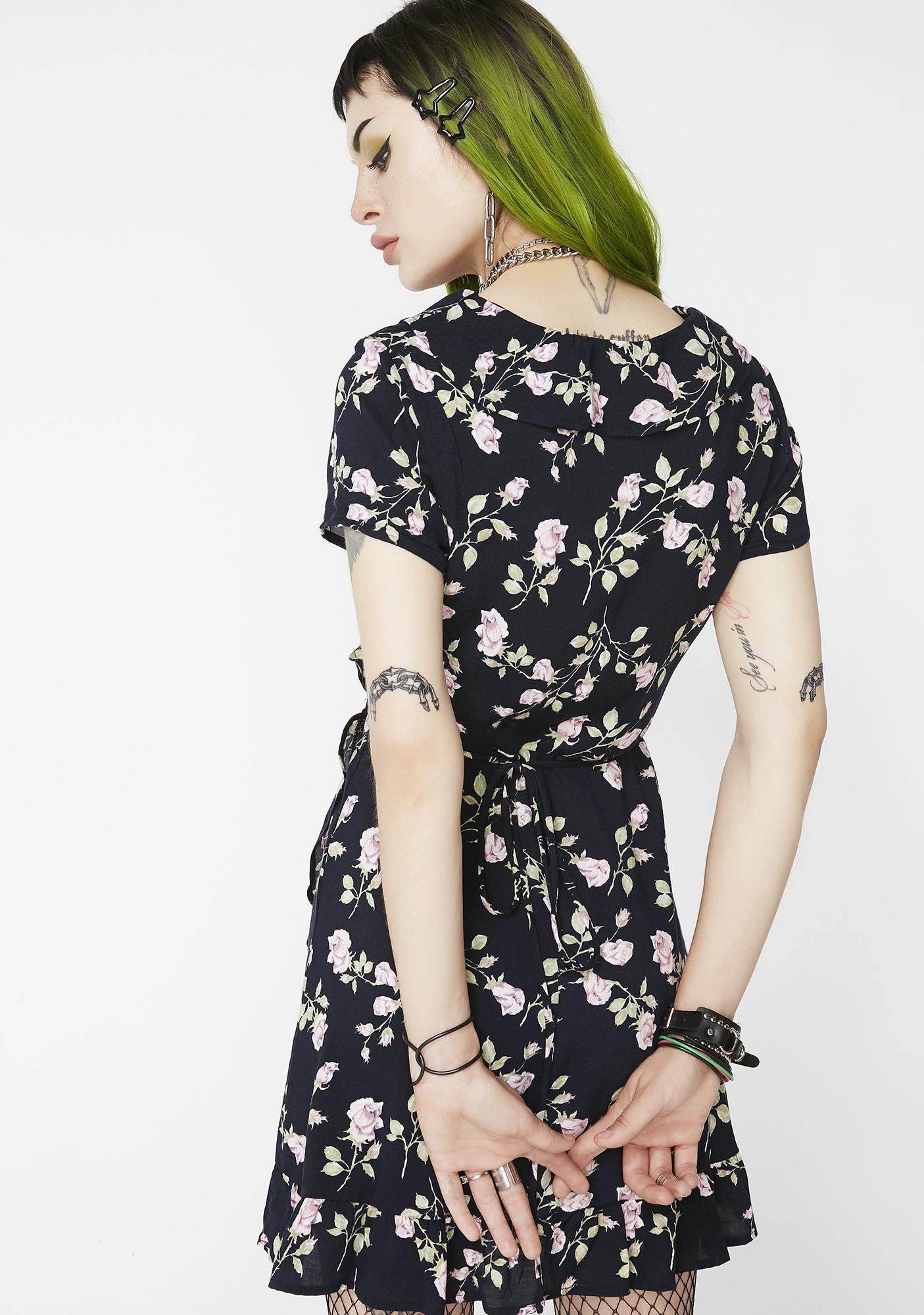 For Keeps Floral Dress