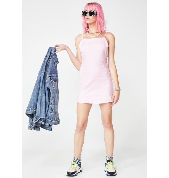Pixie Nocturnal Sparkle Slip Dress