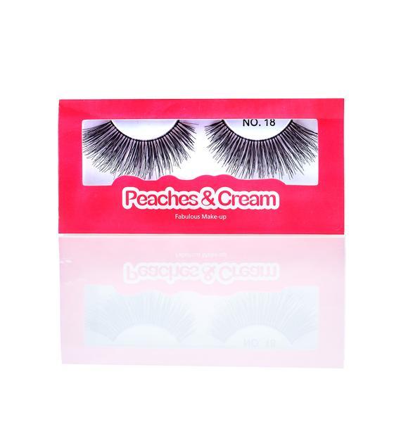 Peaches & Cream No. 18 False Lashes