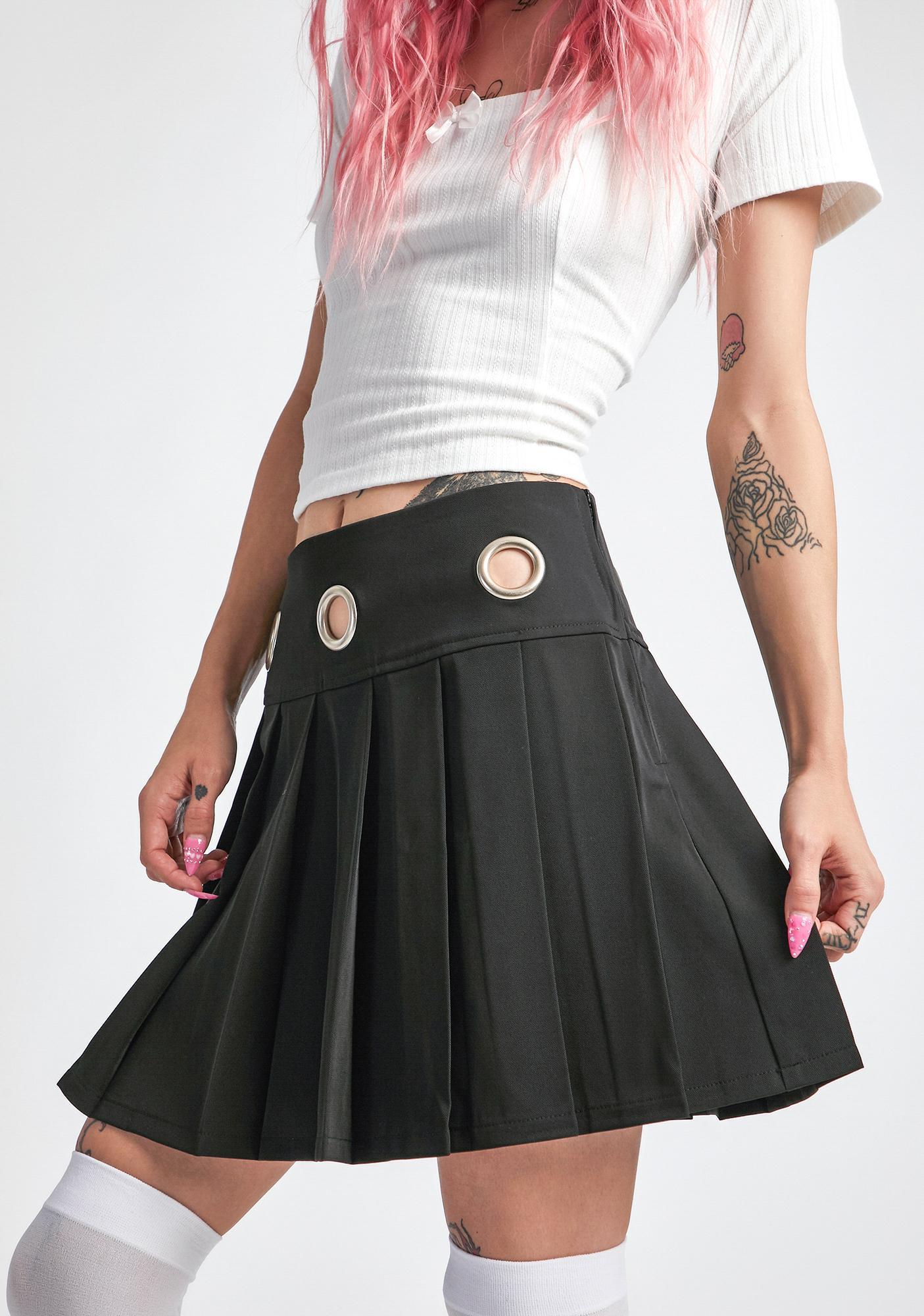 dELiA*s by Dolls Kill Burnout Brigade Pleated Skirt