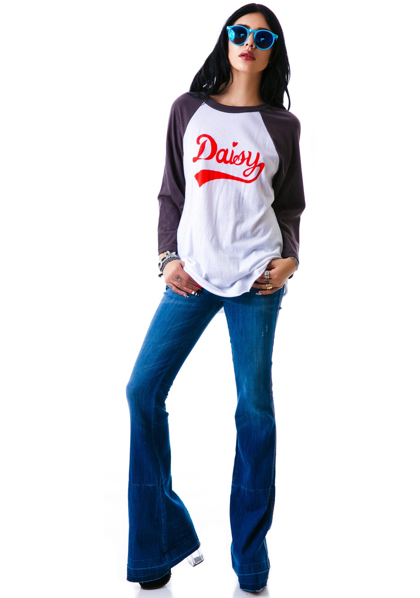Wildfox Couture Daisy Field '79 Raglan