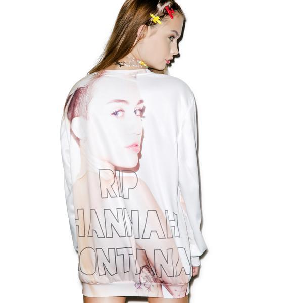 RIP Pop Culture Sweater