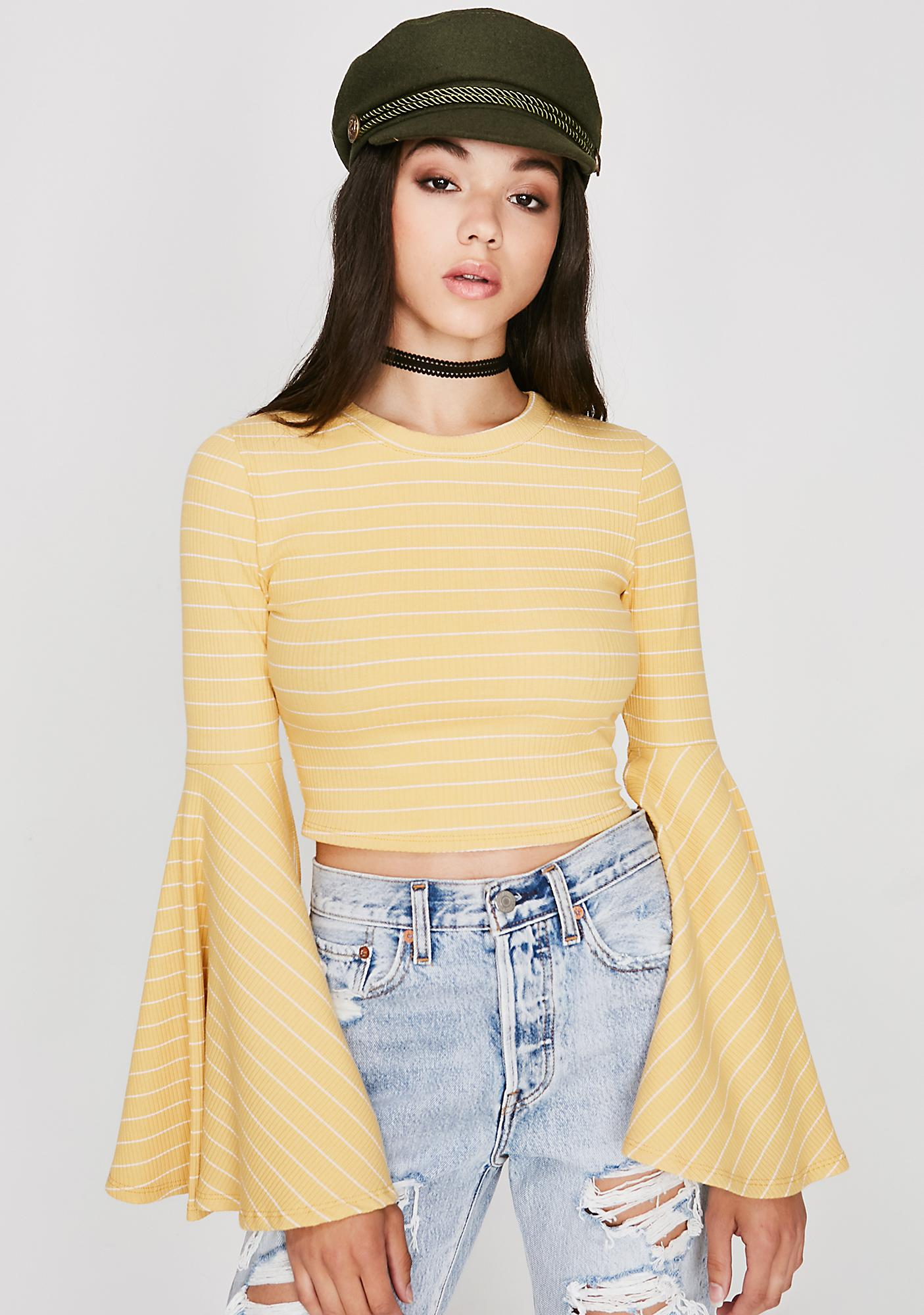 Sunny Teen Dream Striped Top