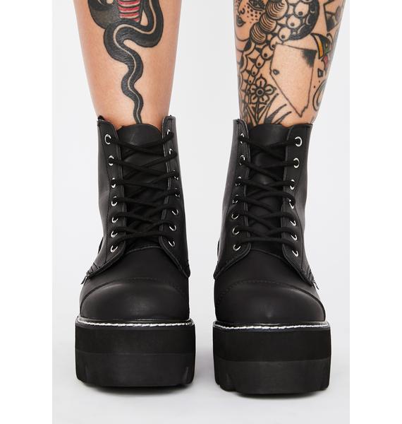 T.U.K. 7-Eye Dino Lug Sole Boots