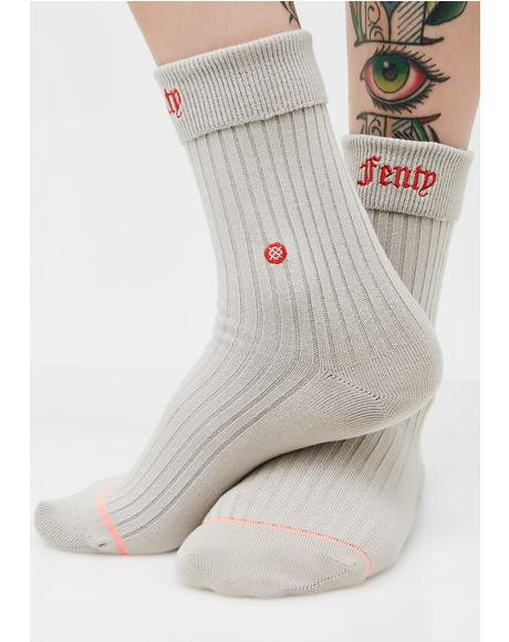 Fenty Prep Socks