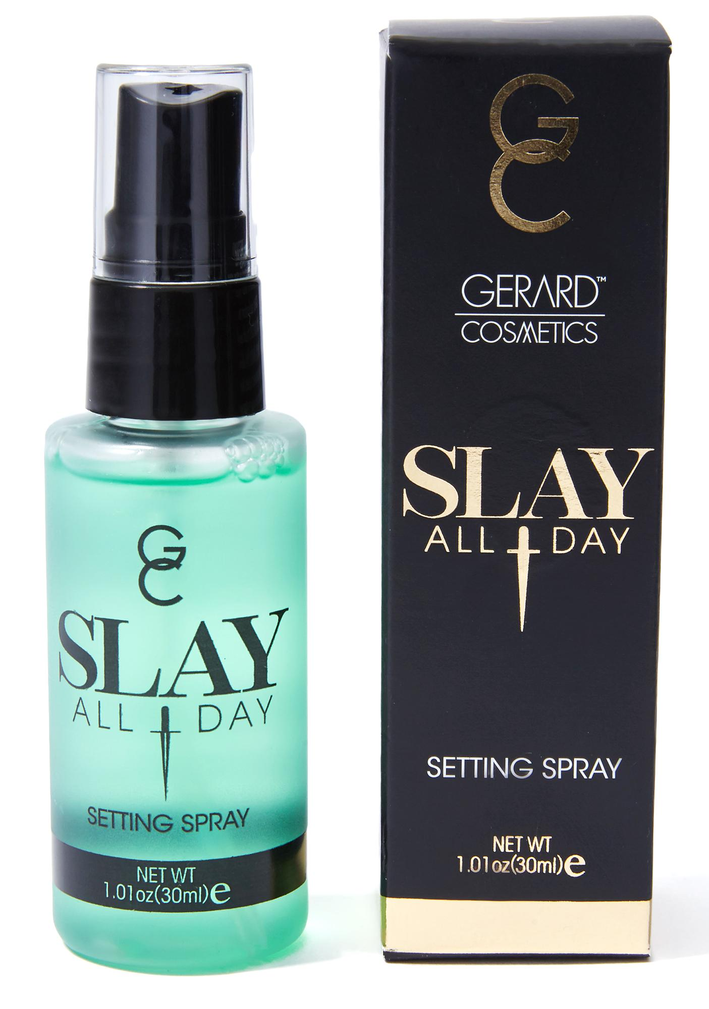 Gerard Cosmetics Cucumber Slay All Day Setting Spray
