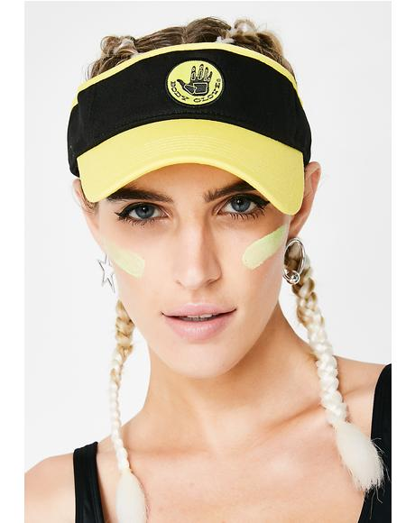 Bumble Bee Sun Visor