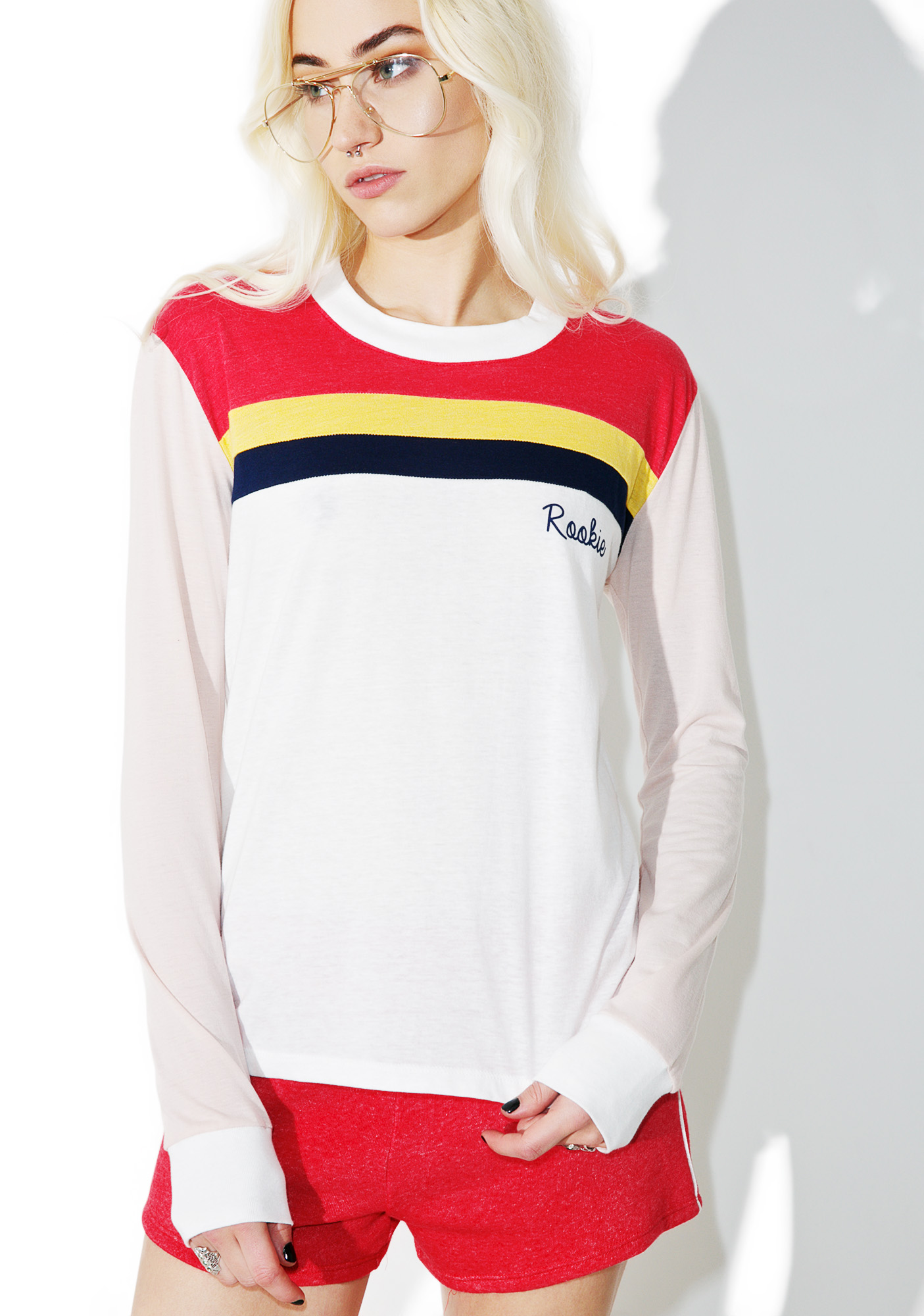 Camp Collection Rookie Long Sleeve Ringer