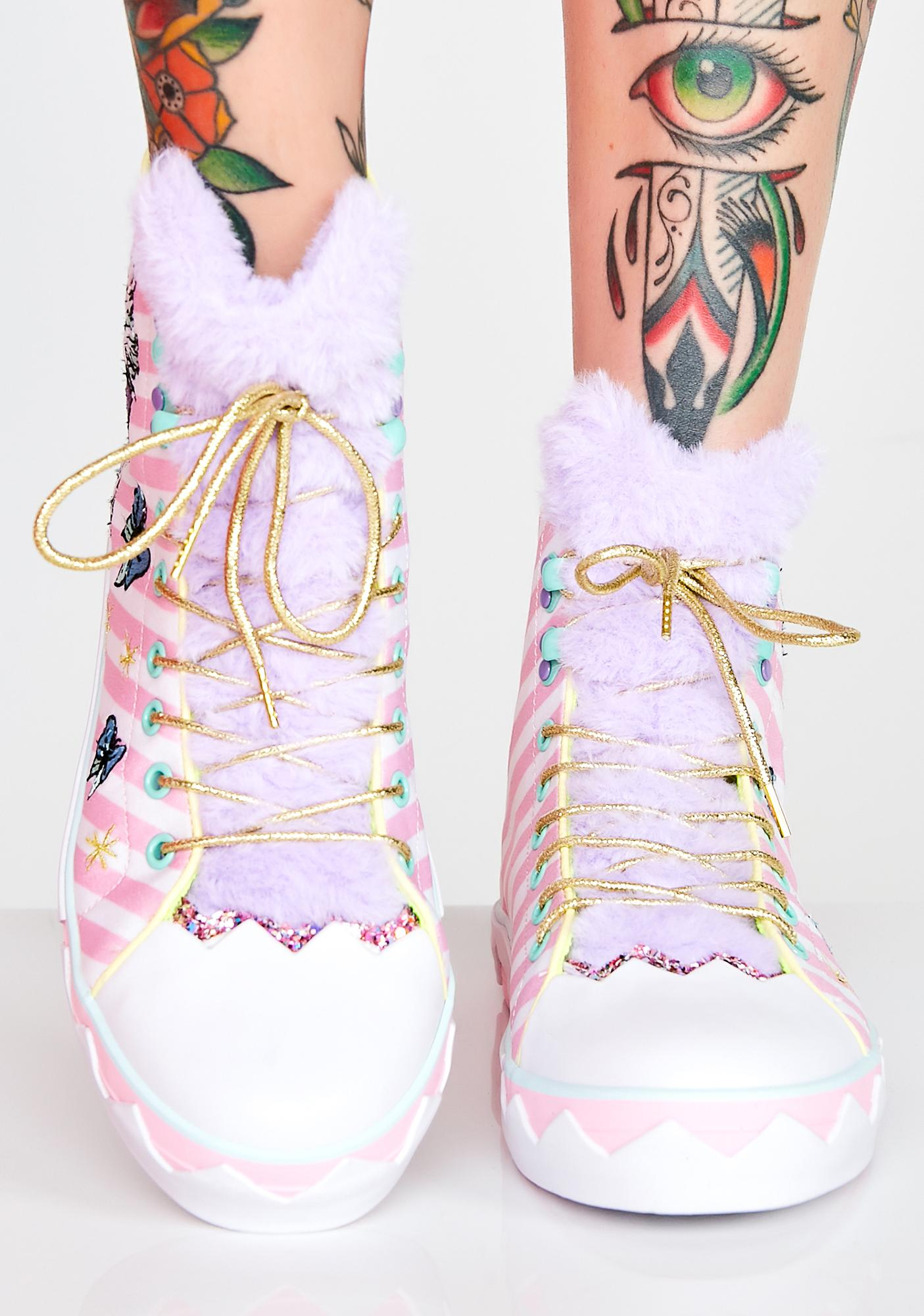 Irregular Choice Magic Moggy Sneakers
