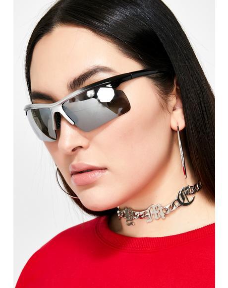 Speed Demon Reflective Sunglasses