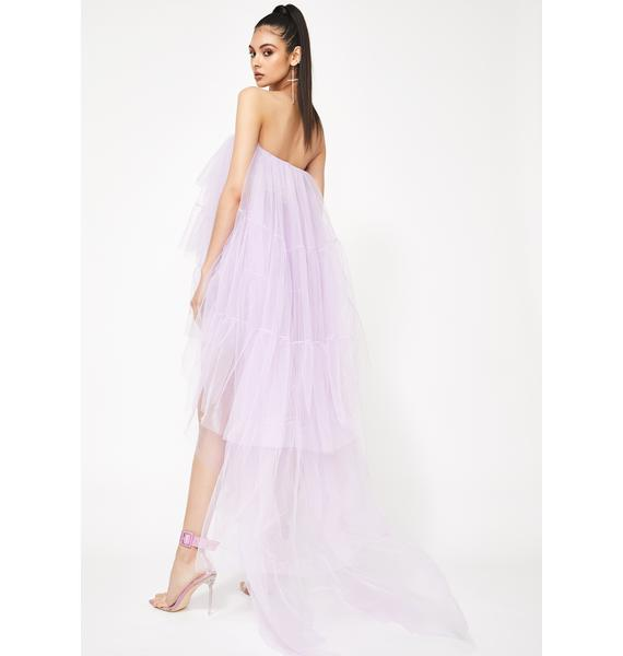 Kiki Riki Lilac Ballerina Gone Bad Tulle Dress