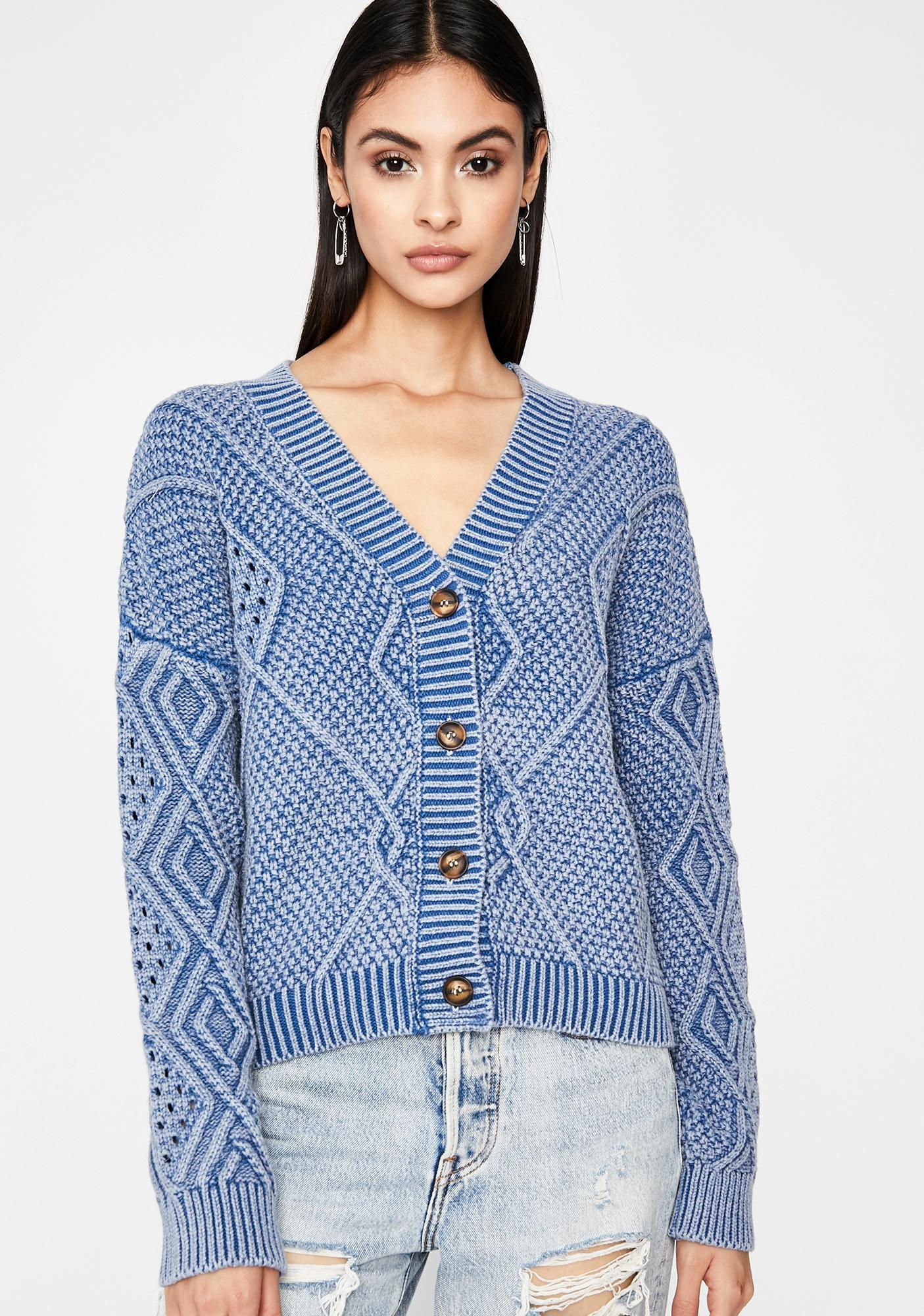 Itz A Beautiful Day Knit Cardigan