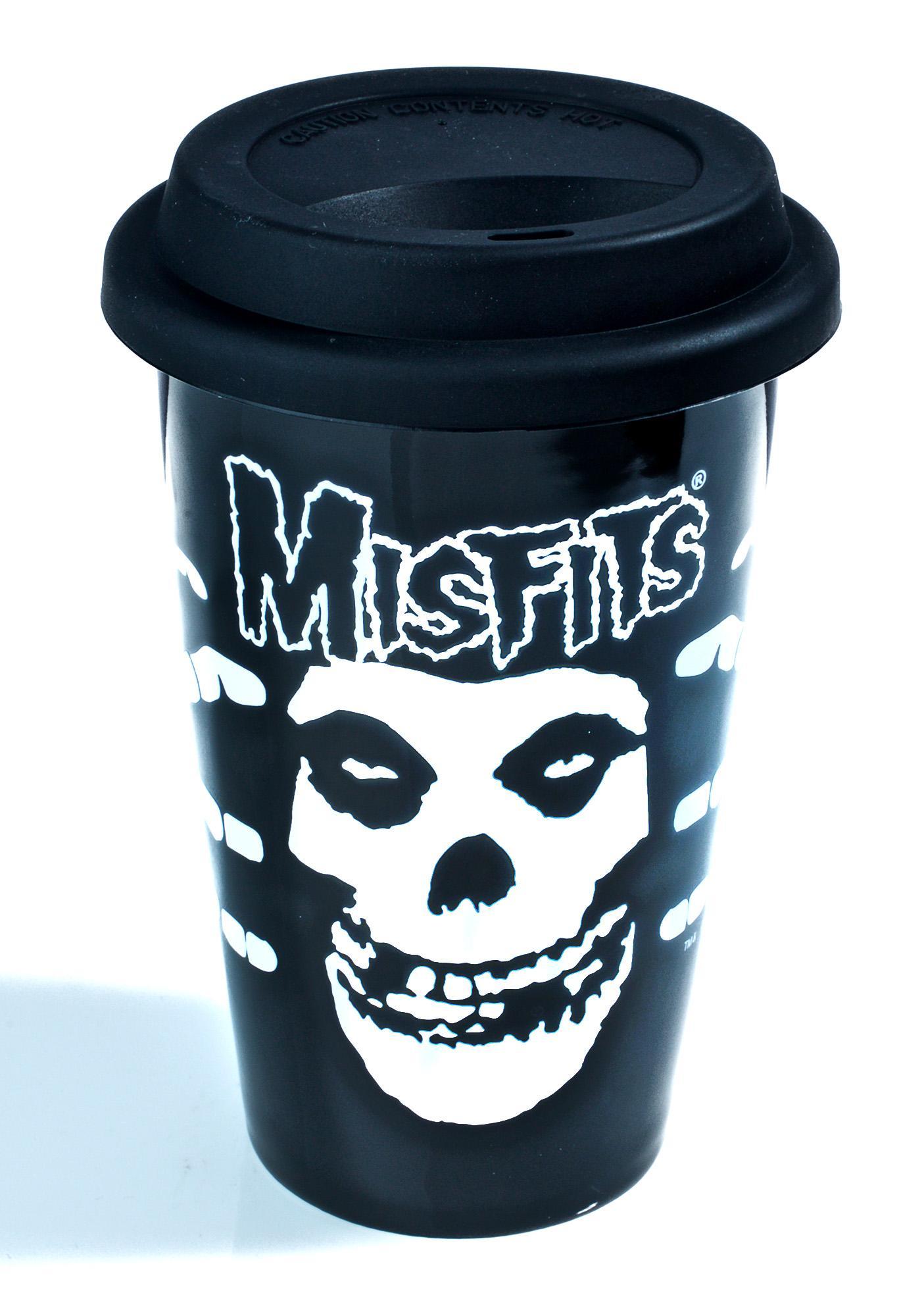 Sourpuss Clothing Misfits Coffee Tumbler