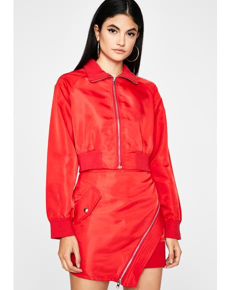 Ring The Alarm Bomber Jacket