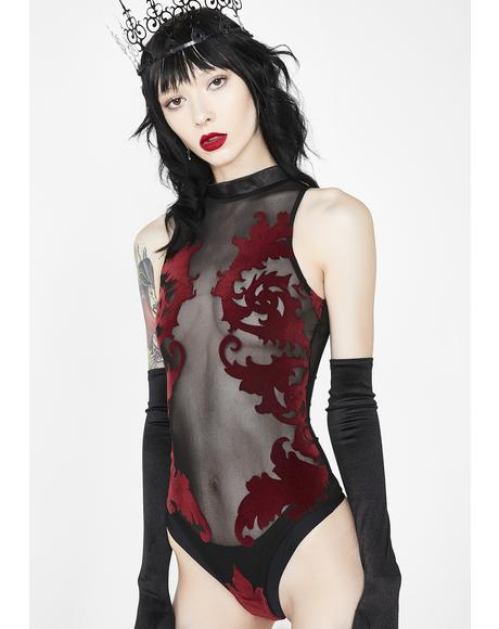 Enchantress Velvet Bodysuit