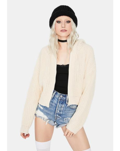 Vanilla Moonlight Eve Knitted Jacket