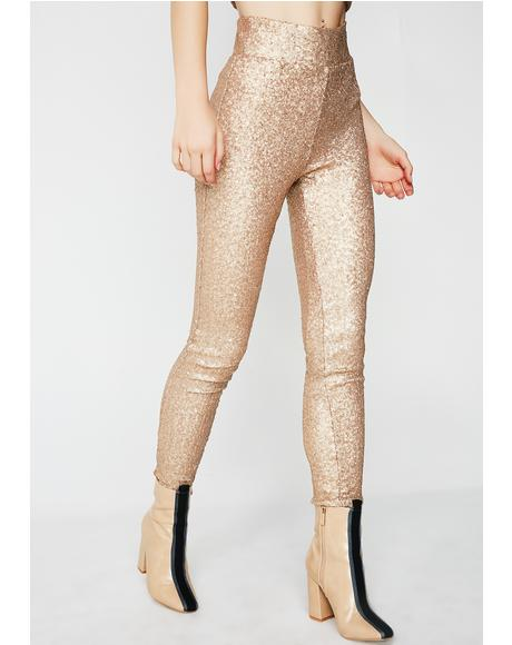 Wild Nights Sequin Pants