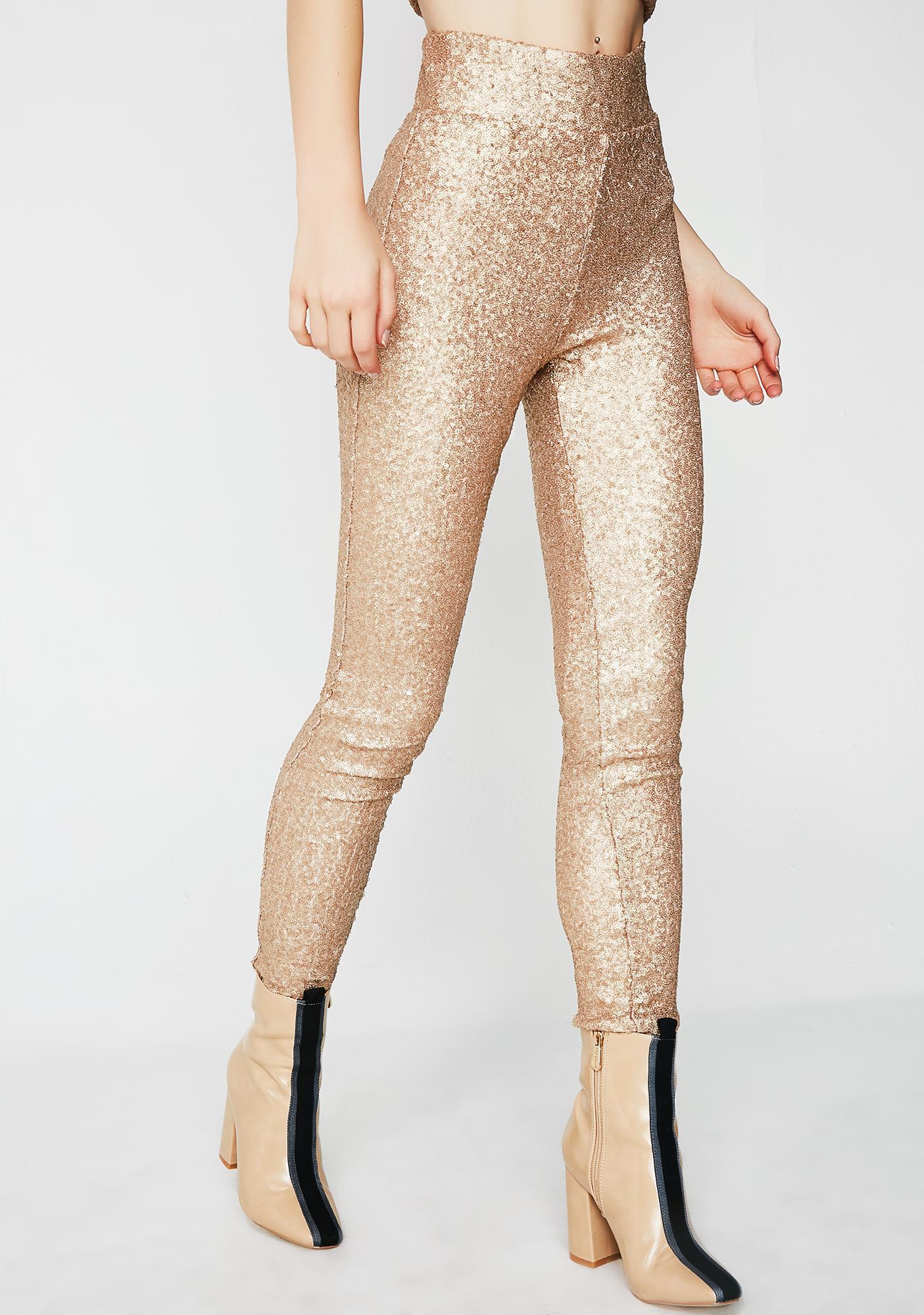 Wild Nights Sequin Pants