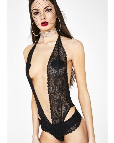 Heartbreak Heiress Lace Teddy