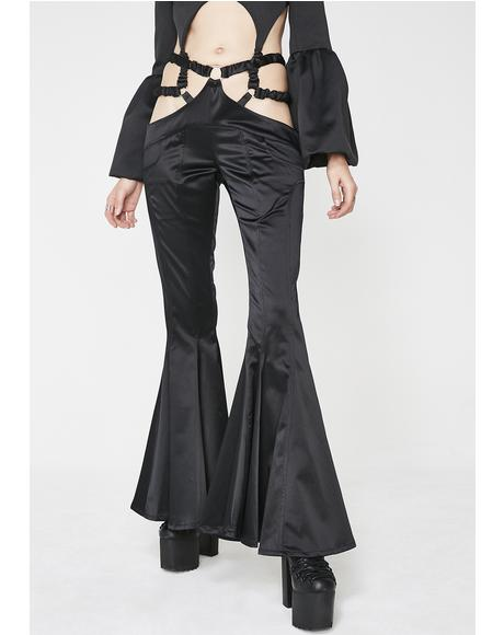 G-String Flare Pants